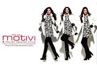 MOTIVI - модный итальянский стиль, торговая сеть модной одежды и аксессуаров. Брендирование на эскалаторных сводах метро является очень эффективным средством продвижения предоставляемых товаров и услуг.