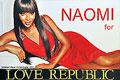 NAOMI for LOVE REPUBLIC – одежда для настоящих модниц, знающих цену своей красоте и привлекательности. Уверенная в себе, загадочная и невероятно сексуальная, девушка LOVE REPUBLIC всегда ставит перед собой высокие цели и добивается их, искусно используя ум и обаяние на пути к своим мечтам