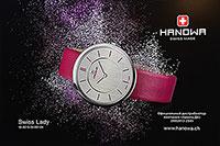 Швейцарские часы HANOWA Swiss Lady. Официальный дистрибьютор в России компания АВЕНТА ДК