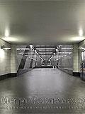 """Станция метро """"Воробьёвы горы"""". Северный вестибюдь, вход в станционный зал."""