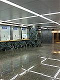 """Станция метро """"Славянский бульвар"""" кассовый зал западного подземного вестибюля"""