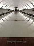 "Станция метро ""Митино"" Воздух — вода — земля."