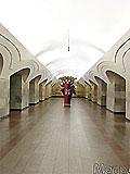 """Станция метро """"Шоссе Энтузиастов"""" станционный зал"""