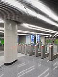 Станция метро - НОВОКОС�НО, Калининская линия Московского метрополитена.