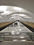 """Станция метро """"Шипиловская""""."""