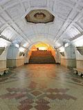 """Станция метро """"Белорусская КЛ""""."""