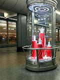 """Станция """"Воробьёвы горы"""". Станционный за. Выставка эксклюзивной продукции Российских производителей фарфора."""