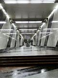 """Станция метро """"Воробьёвы горы"""". Станция """"Воробьёвы горы"""". Северный вестибюдь, вход в станционный зал."""