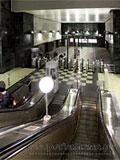 """Станция """"Воробьёвы горы"""". Северный вестибюдь.  Выход в город к спортивному комплексу """"Лужники""""."""