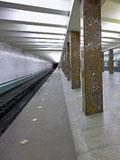 """Станция метро """"Речной Вокзал""""."""