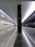 Станция метро - Пятницкое шоссе, Арбатско-Покровская линия. Станционный зал;.
