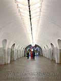 """Станция метро """"Шаболовская"""". Станционный зал."""