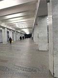 """Станция метро """"Беляево""""."""