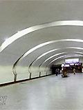 """Станция метро """"Коньково""""."""