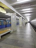 """Станция метро """"Полежаевская"""". Станционный зал."""