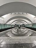 """Станция метро """"Зябликово""""."""